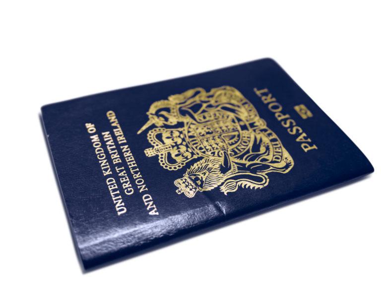paszport brytyjskie obywatelstwo