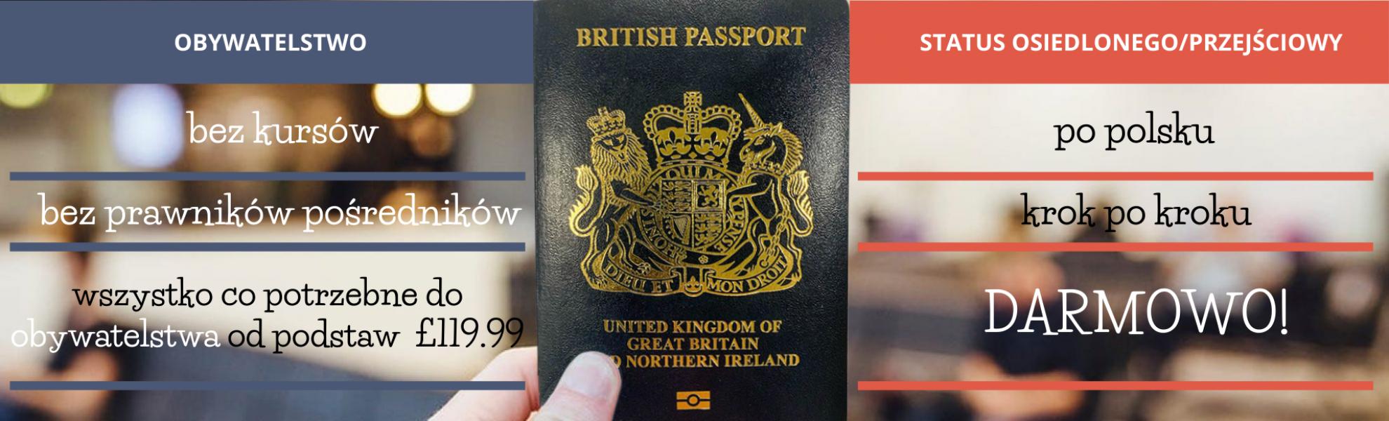 brytyjski paszport obywatelstwo brytyjskie